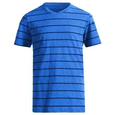 Buffalo David Bitton Kellani T-Shirt - Short Sleeve (For Big Boys) in Star Sapphire Heather - Closeouts