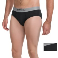 Buffalo David Bitton Microfiber Briefs - 2-Pack (For Men) in Black - Closeouts