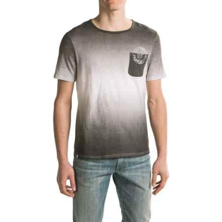 Buffalo David Bitton Nergui T-Shirt - Short Sleeve (For Men) in Black - Closeouts