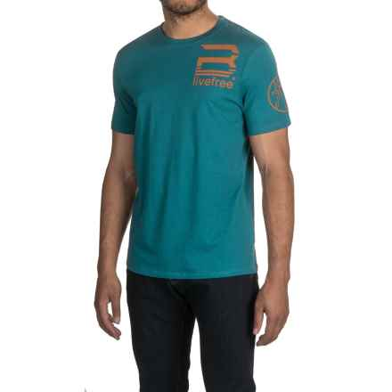 Buffalo David Bitton Nilmad T-Shirt - Short Sleeve (For Men) in Totem - Closeouts