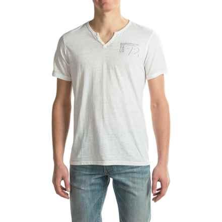 Buffalo David Bitton Nuhan T-Shirt - Short Sleeve (For Men) in Heather White - Closeouts
