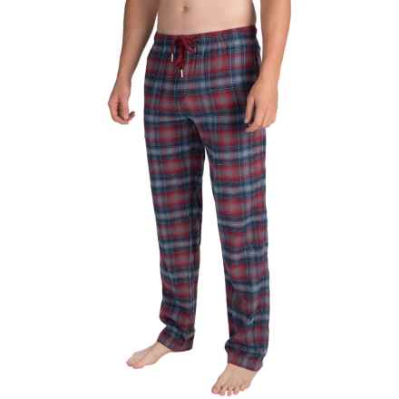 Buffalo David Bitton Plaid Flannel Pajama Pants (For Men) in Imperial - Closeouts
