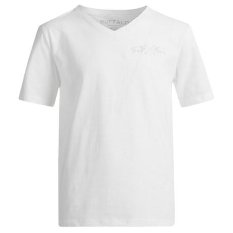 Buffalo David Bitton Tekka T-Shirt - Short Sleeve (For Big Boys) in White