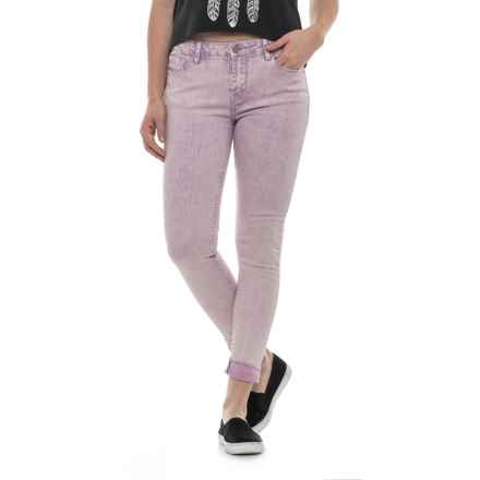 Buffalo Gena Skinny Jeans (For Women) in Overdye Orchid - Closeouts