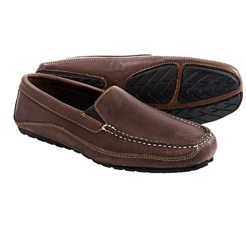 Buffalo Jackson Cortez Leather Driving Moccasins For Men