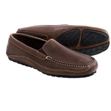 Buffalo Jackson Cortez Leather Driving Moccasins (For Men) in Dark Briar - Closeouts