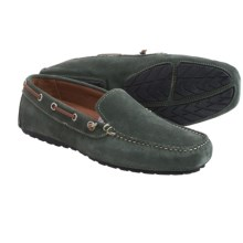 Buffalo Jackson Magellan Driving Moccasins (For Men) in Denim Suede - Closeouts
