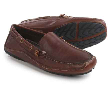 Buffalo Jackson Trading Co. Vail Moc Shoes - Leather (For Men) in Red Rock - Closeouts
