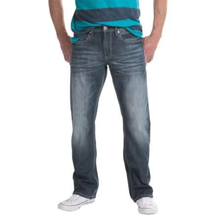 Buffalo King-X Basic Slim Bootcut Jeans (For Men) in High Contrast - Closeouts
