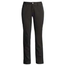 Buffalo Lara Pants - Stretch Twill, Tapered Leg (For Women) in Black