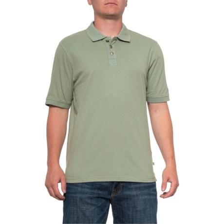 Buffalo-Nickel Polo Shirt - Short Sleeve (For Men) - SAGE (M )
