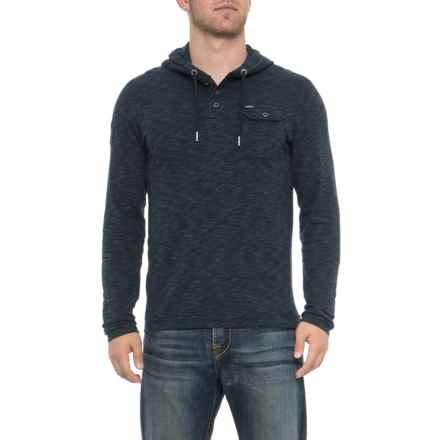 Buffalo Nifaro Hooded Shirt - Long Sleeve (For Men) in Whale - Closeouts
