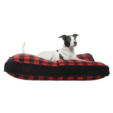 Image of Buffalo Plaid Rectangle Dog Bed - 28x40?