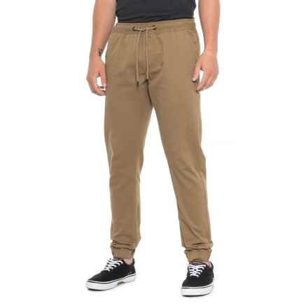 Buffalo Zayne Joggers (For Men) in Suede - Closeouts