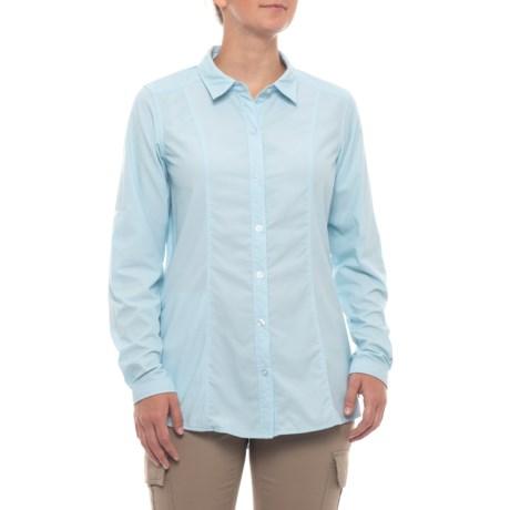 Image of BugsAway(R) Zeta Stripe Shirt - UPF 50, Long Sleeve (For Women)
