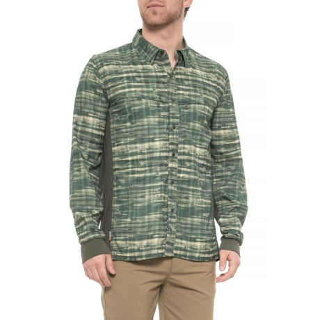 Image of BugStopper(R) Intruder Bicomp Fishing Shirt - UPF 30+, Long Sleeve (For Men)