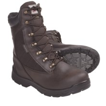 "Built by Georgia Boot Gauge Boots - Waterproof, Insulated, 8"" (For Men) in Brown - Closeouts"
