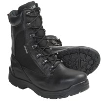 "Built by Georgia Boot Gauge Boots - Waterproof, Insulated, Steel Toe, 8"" (For Men) in Black - Closeouts"