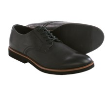 BUKS by Walk-Over Declan Oxford Shoes - Leather (For Men) in Black Full Grain - Closeouts