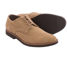 BUKS by Walk-Over Declan Oxford Shoes - Leather (For Men) in Sand Suede - Closeouts