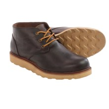 BUKS by Walk-Over Goodwin Chukka Boots - Leather (For Men) in Tan Full Grain - Closeouts