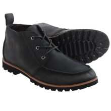 BUKS by Walk-Over Rhodes Chukka Boots - Leather (For Men) in Black Full Grain - Closeouts