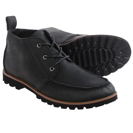 BUKS by Walk Over Rhodes Chukka Boots Leather (For Men)