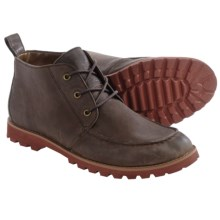 BUKS by Walk-Over Rhodes Chukka Boots - Leather (For Men) in Chocolate Tarte Full Grain - Closeouts