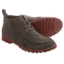 BUKS by Walk-Over Rhodes Chukka Boots - Leather (For Men) in Stone Suede - Closeouts