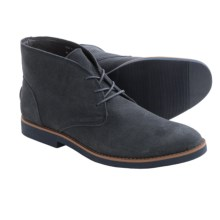 BUKS by Walk-Over Wallen Chukka Boots - Suede (For Men) in Charcoal Suede - Closeouts