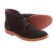 BUKS by Walk-Over Wallen Chukka Boots - Suede (For Men) in Chocolate Suede - Closeouts