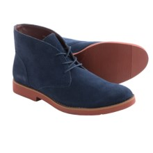 BUKS by Walk-Over Wallen Chukka Boots - Suede (For Men) in Navy Suede - Closeouts