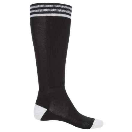 Bula Thermal 200 Cushioned CBall Ski Socks - Over the Calf (For Men and Women) in Black - Closeouts