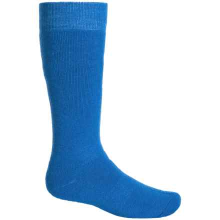 Bula Thermal 200 Cushioned Ski Socks - Over the Calf (For Little and Big Kids) in Cobalt - Closeouts