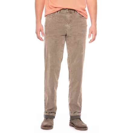 Bullock & Jones Bullock &  Jones Noah Five-Pocket Bi-Color Corduroy Pants (For Men) in British Khaki - Closeouts