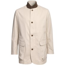 Bullock & Jones Derrick Jacket - Cotton Canvas (For Men) in Ivory - Closeouts