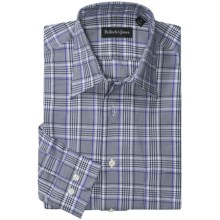 Bullock & Jones Jordan Plaid Shirt - Long Sleeve (For Men) in Grey/Purple - Closeouts