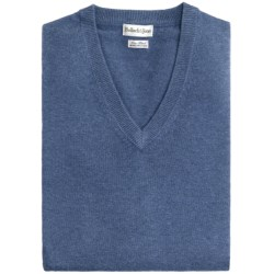 Bullock & Jones Luxe Wool-Cashmere Vest (For Men) in Blue