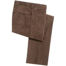 Bullock & Jones Microfiber Corduroy Pants (For Men) in Brown - Closeouts