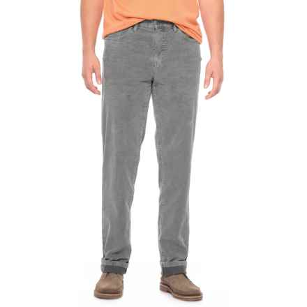 Bullock &  Jones Noah Five-Pocket Bi-Color Corduroy Pants (For Men) in Medium Grey - Closeouts