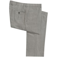 Bullock & Jones Plaid Pants - Wool (For Men) in Grey - Closeouts