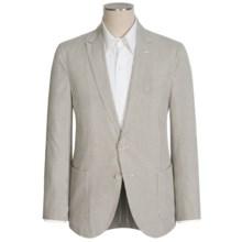 Bullock & Jones Seersucker Sport Coat - Cotton-Silk (For Men) in Brown/White - Closeouts