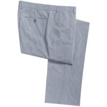 Bullock & Jones Shadow Stripe Pants (For Men) in Blue - Closeouts