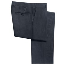 Bullock & Jones Tropical Weight Dress Pants - Wool Blend (For Men) in Navy - Closeouts