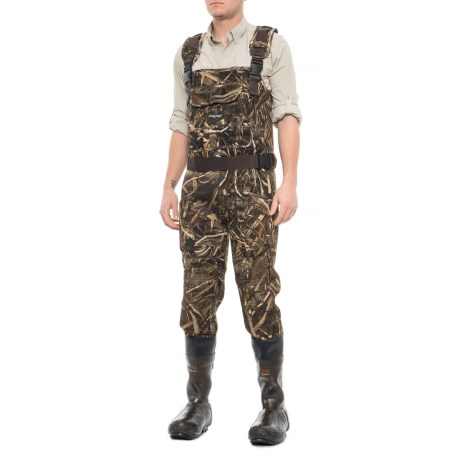 Bulltogg Cleated Bootfoot Waders - Waterproof, Insulated (For Men) thumbnail