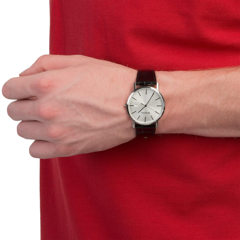 Bulova Dress Watch (For Men) 9207D - Save 20%