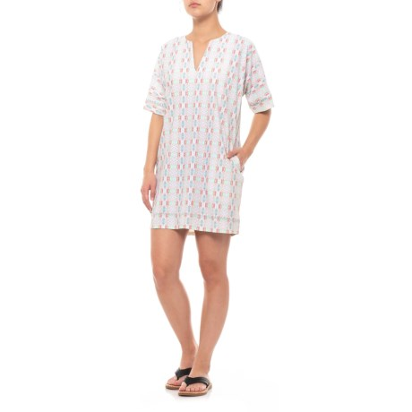 Image of Bunglo Beach Dress- UPF 50, Short Sleeve (For Women)