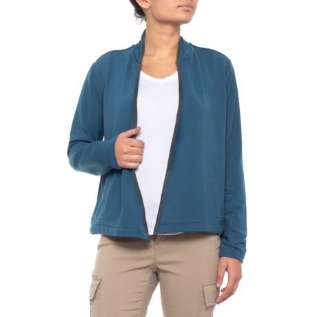 Image of Bur Basin Cardigan Sweater - Merino Wool, UPF 50+ (For Women)