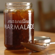 Burgon & Ball Printed Glass Jar in Marvellous Marmalade - Closeouts