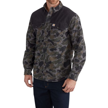 Image of Burleson Upland Shooting Shirt - Long Sleeve (For Men)